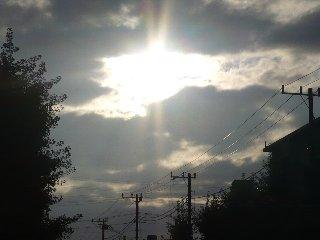 18日の太陽