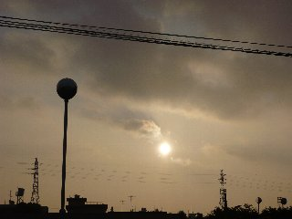 20日の太陽