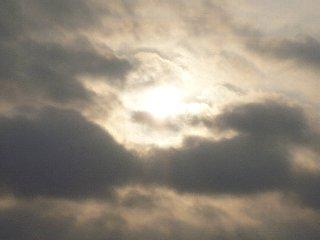 21日の太陽