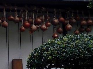 吊るされる玉葱