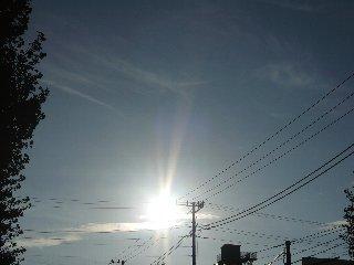27日の太陽