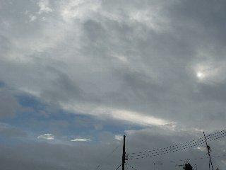 28日の空