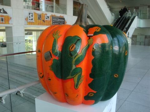 かぼちゃ。
